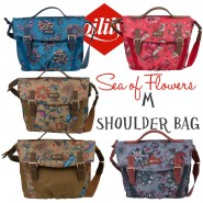 Oilily Sea of Flowers M Shoulder Bag Schultertasche