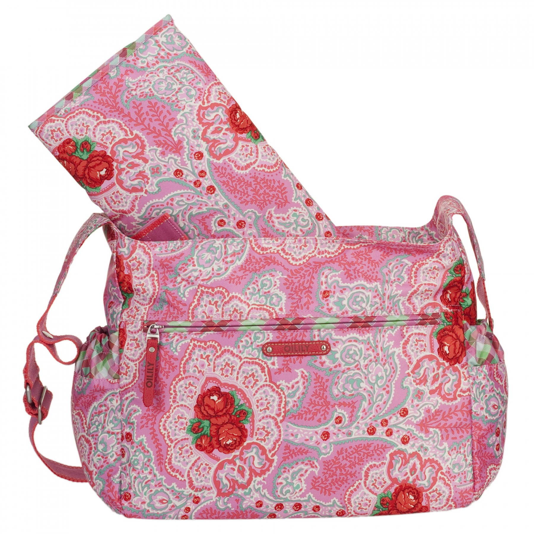 oilily wickeltasche babybag changing bag apron sommer 2012. Black Bedroom Furniture Sets. Home Design Ideas