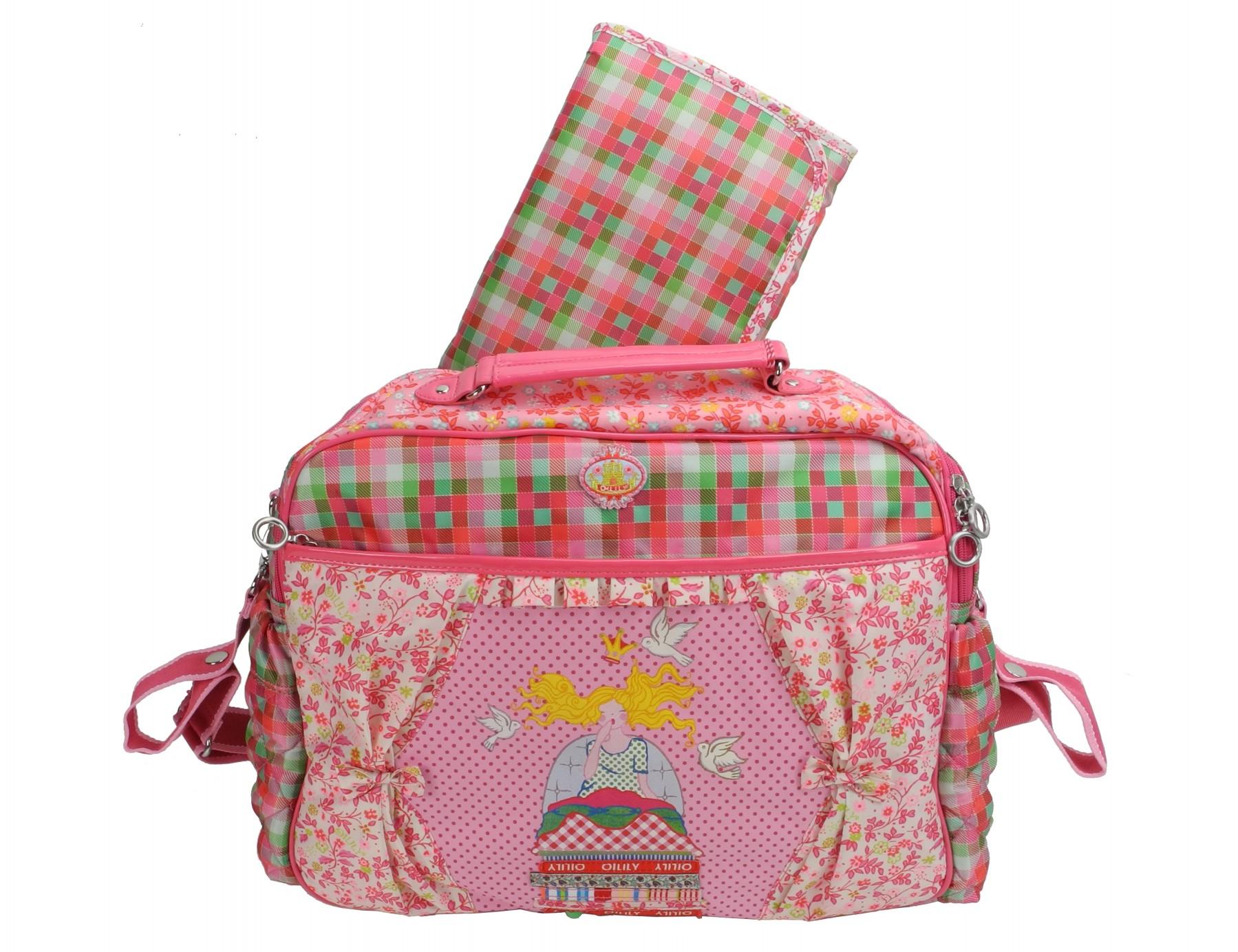 oilily wickeltasche diaper bag babybag changing bag. Black Bedroom Furniture Sets. Home Design Ideas