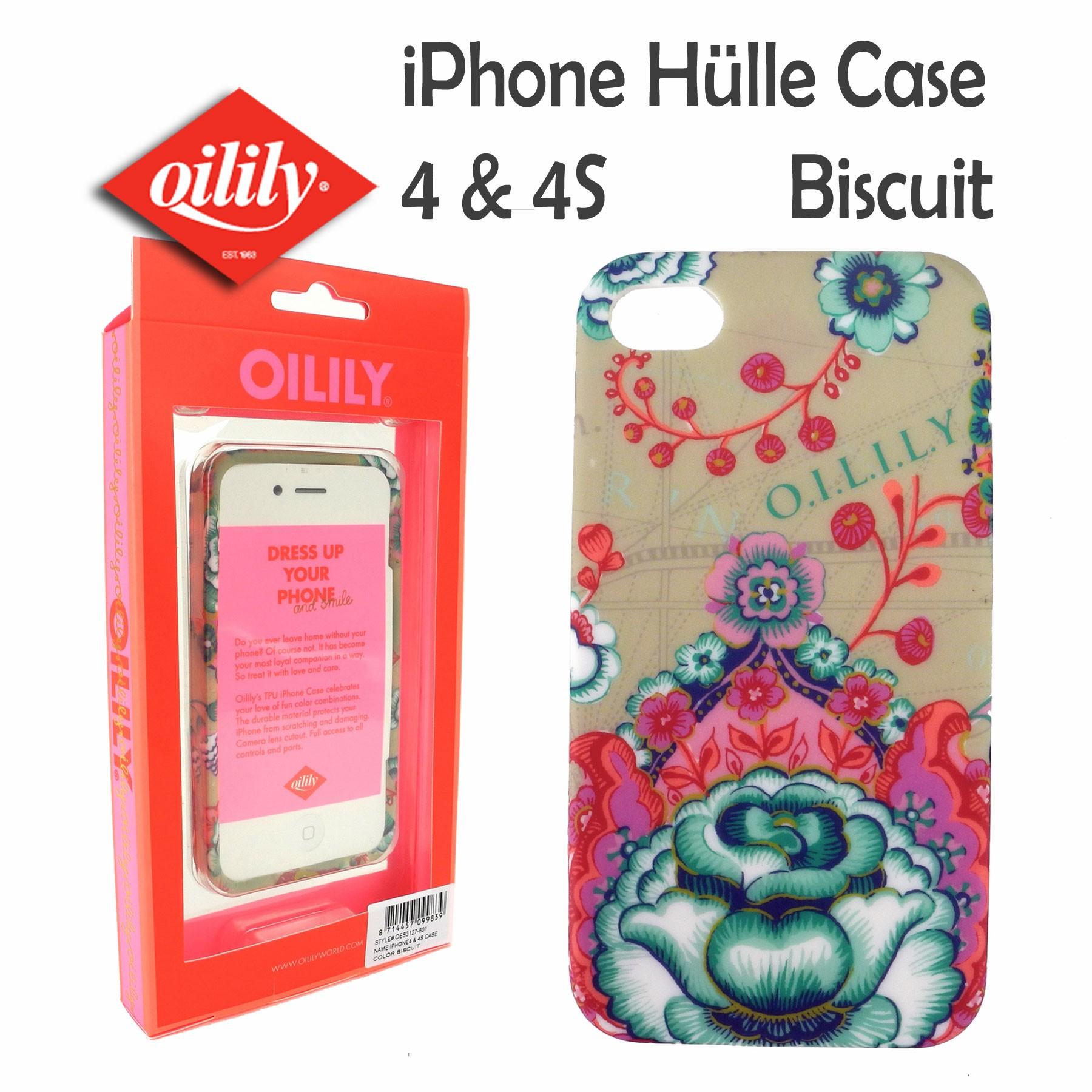 iphone 4 4s h lle von oilily case tpu hardcase fantasy. Black Bedroom Furniture Sets. Home Design Ideas