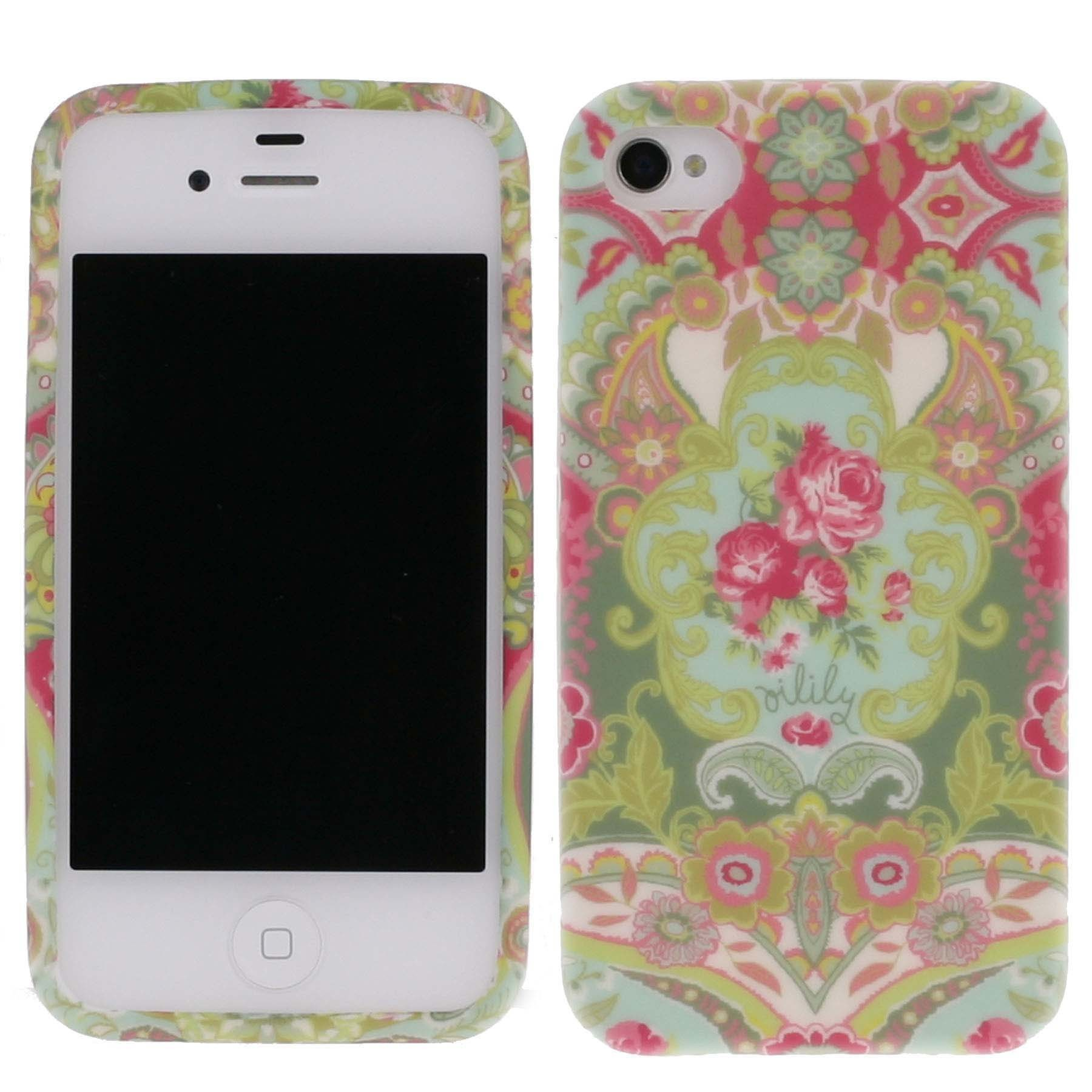 oilily iphone 4 4s h lle case hardcase summer mosaic. Black Bedroom Furniture Sets. Home Design Ideas