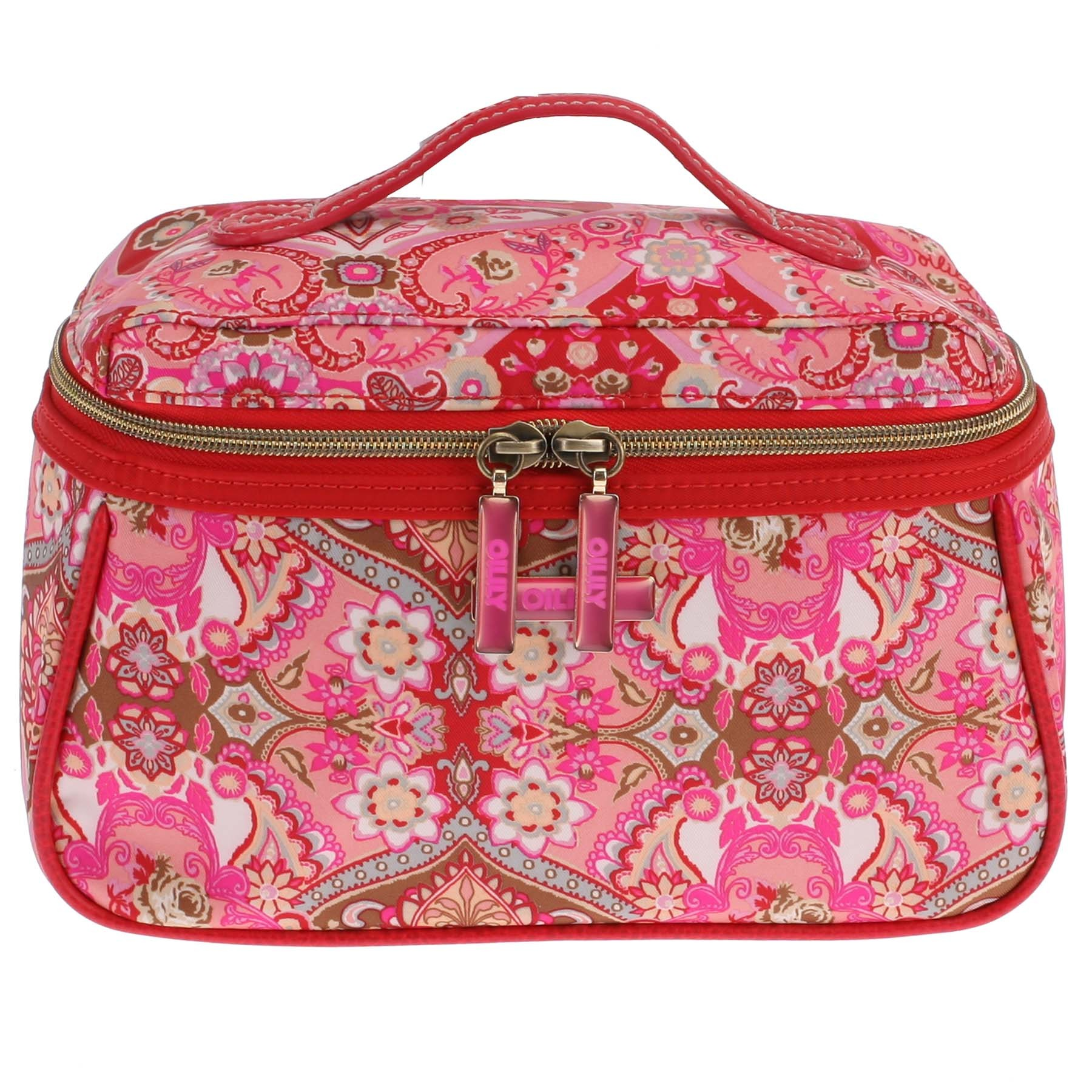 oilily summer mosaic kosmetiktasche m beauty case strawberry ebay. Black Bedroom Furniture Sets. Home Design Ideas