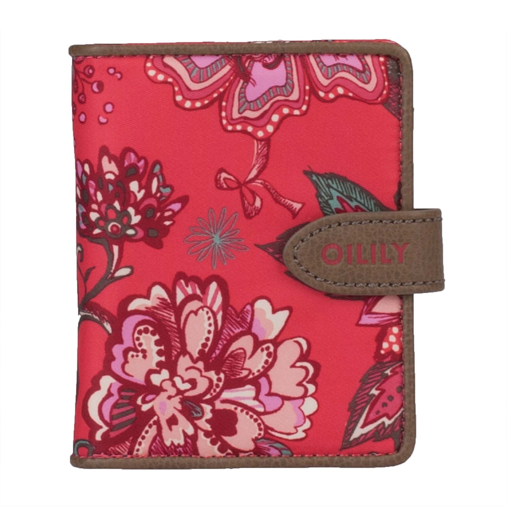 oilily geldb rse s flap wallet portemonnaie sea of flowers. Black Bedroom Furniture Sets. Home Design Ideas