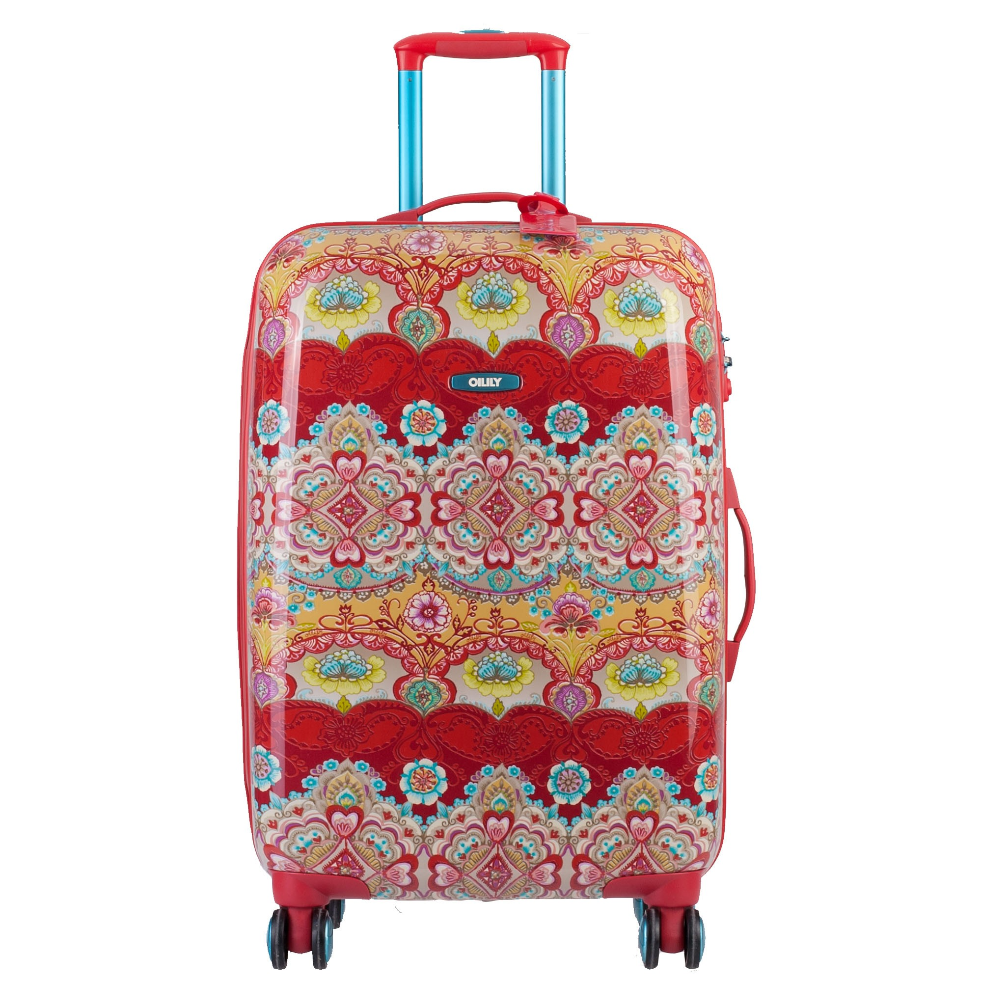 oilily travel 2013 lotus koffer trolley hartschale 4 rollen 70 cm 82l ebay. Black Bedroom Furniture Sets. Home Design Ideas