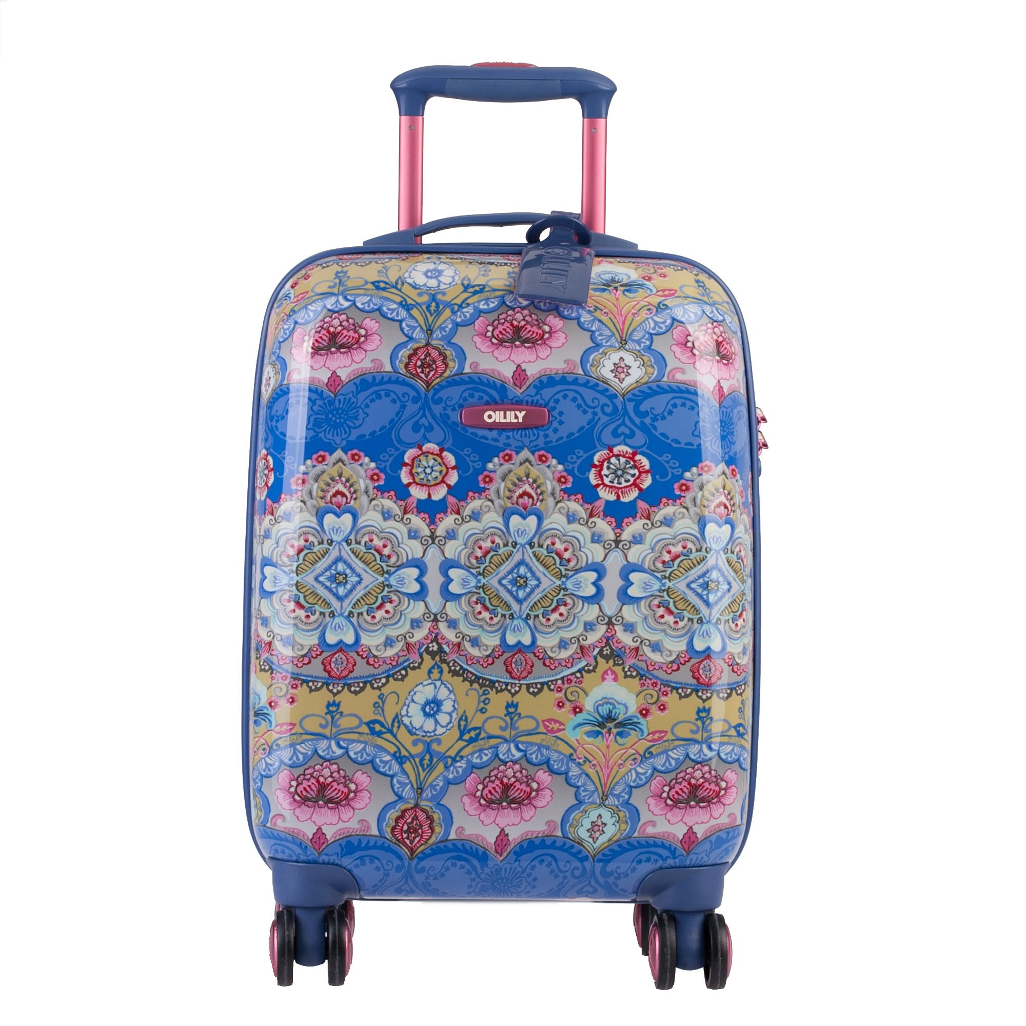 oilily travel 2013 lotus koffer trolley hartschale 4 rollen 55 cm 43l ebay. Black Bedroom Furniture Sets. Home Design Ideas