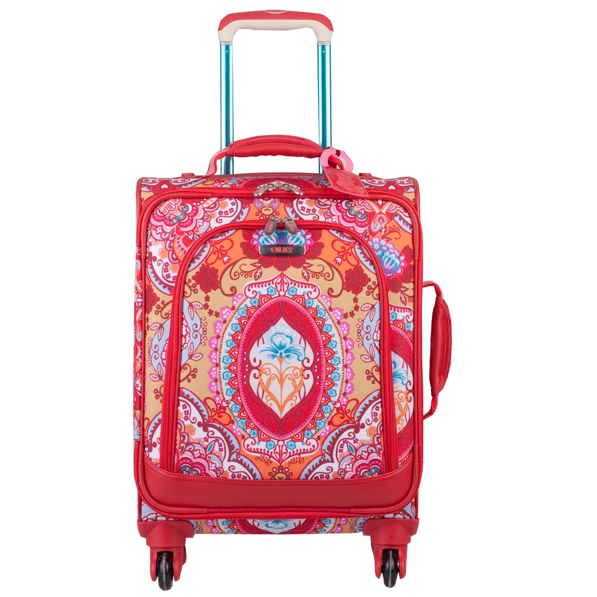 oilily travel 2013 lotus koffer s trolley spinner 4 rollen 55 cm 38l ebay. Black Bedroom Furniture Sets. Home Design Ideas