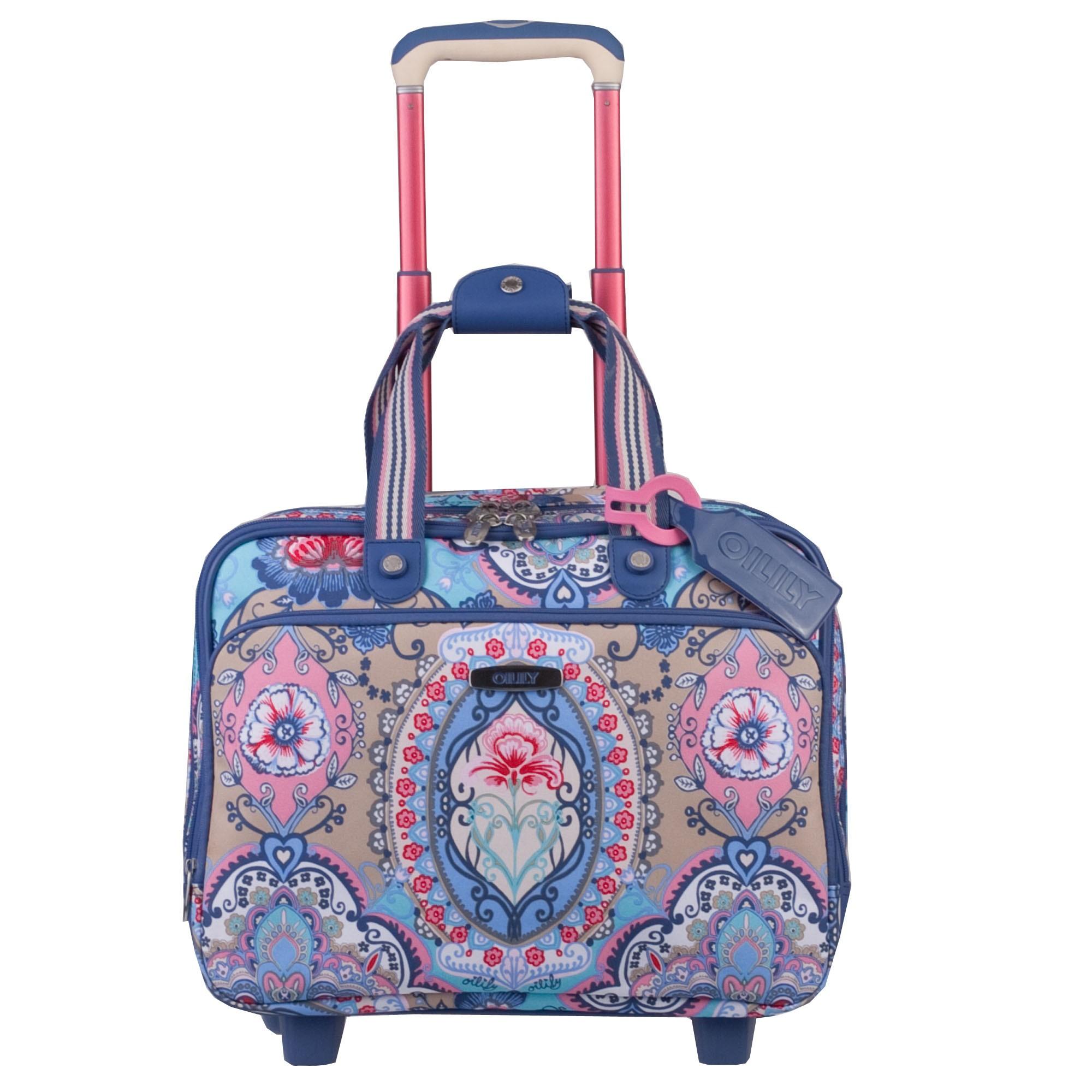 oilily travel 2013 lotus office bag on wheels laptopfach 2. Black Bedroom Furniture Sets. Home Design Ideas