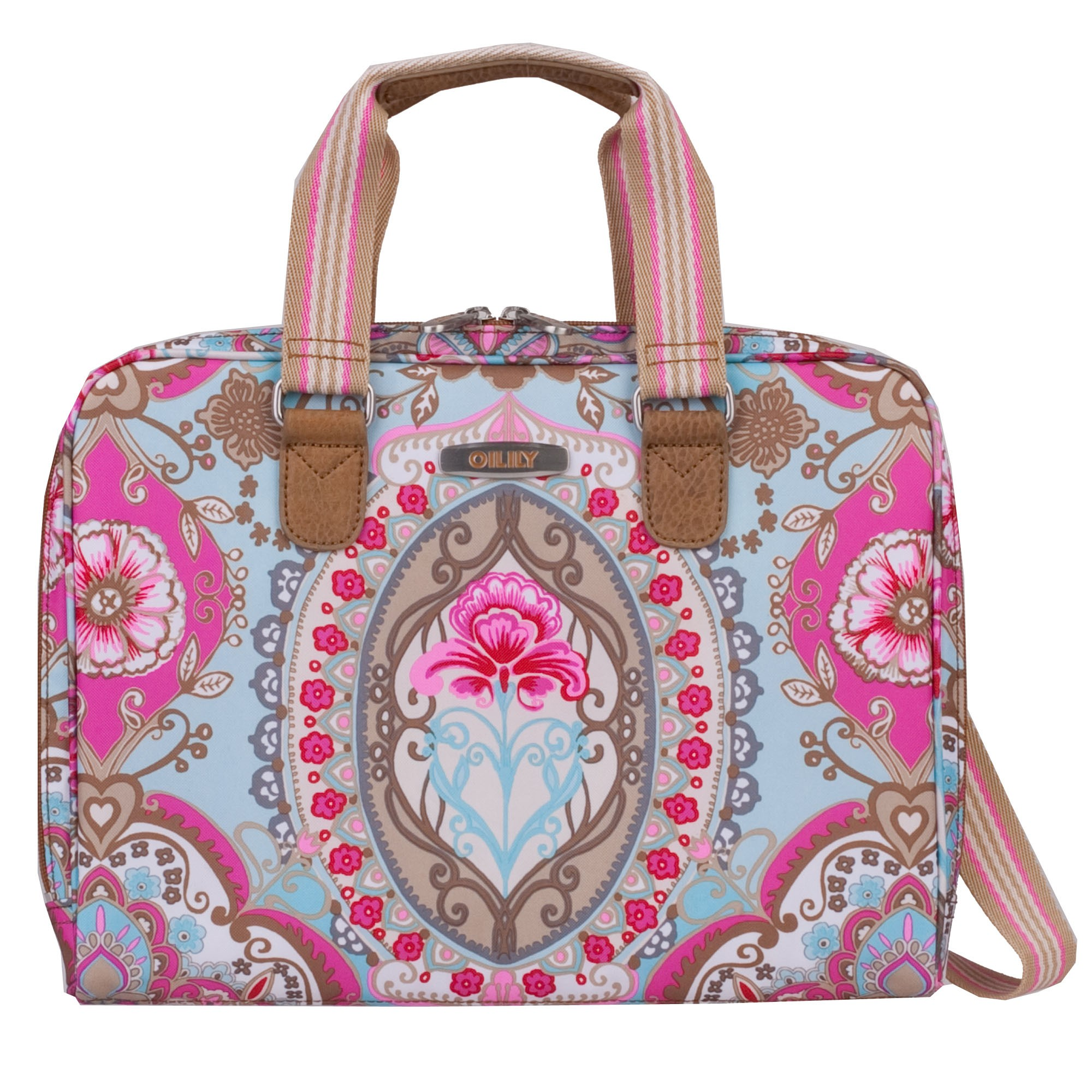 oilily travel 2013 lotus laptop bag laptoptasche 15 6 zoll. Black Bedroom Furniture Sets. Home Design Ideas