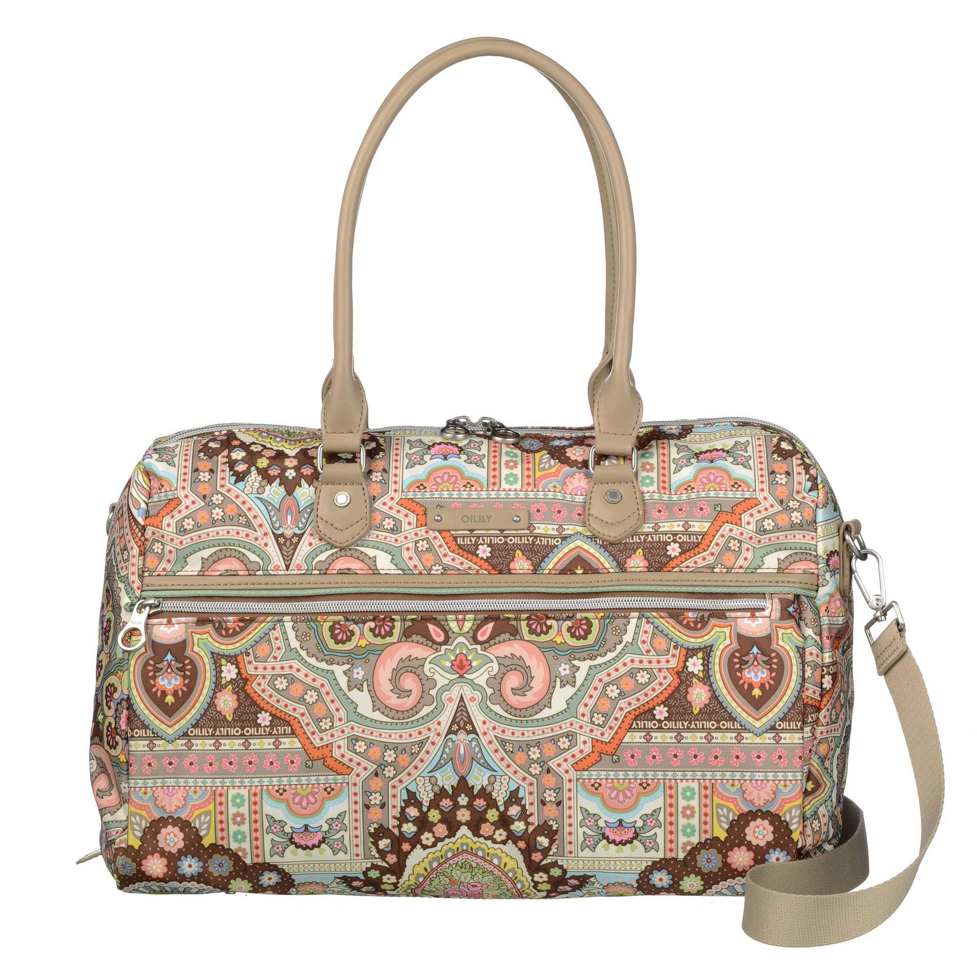 Oilily boston bag bolso Spring Ovation en 4 colores