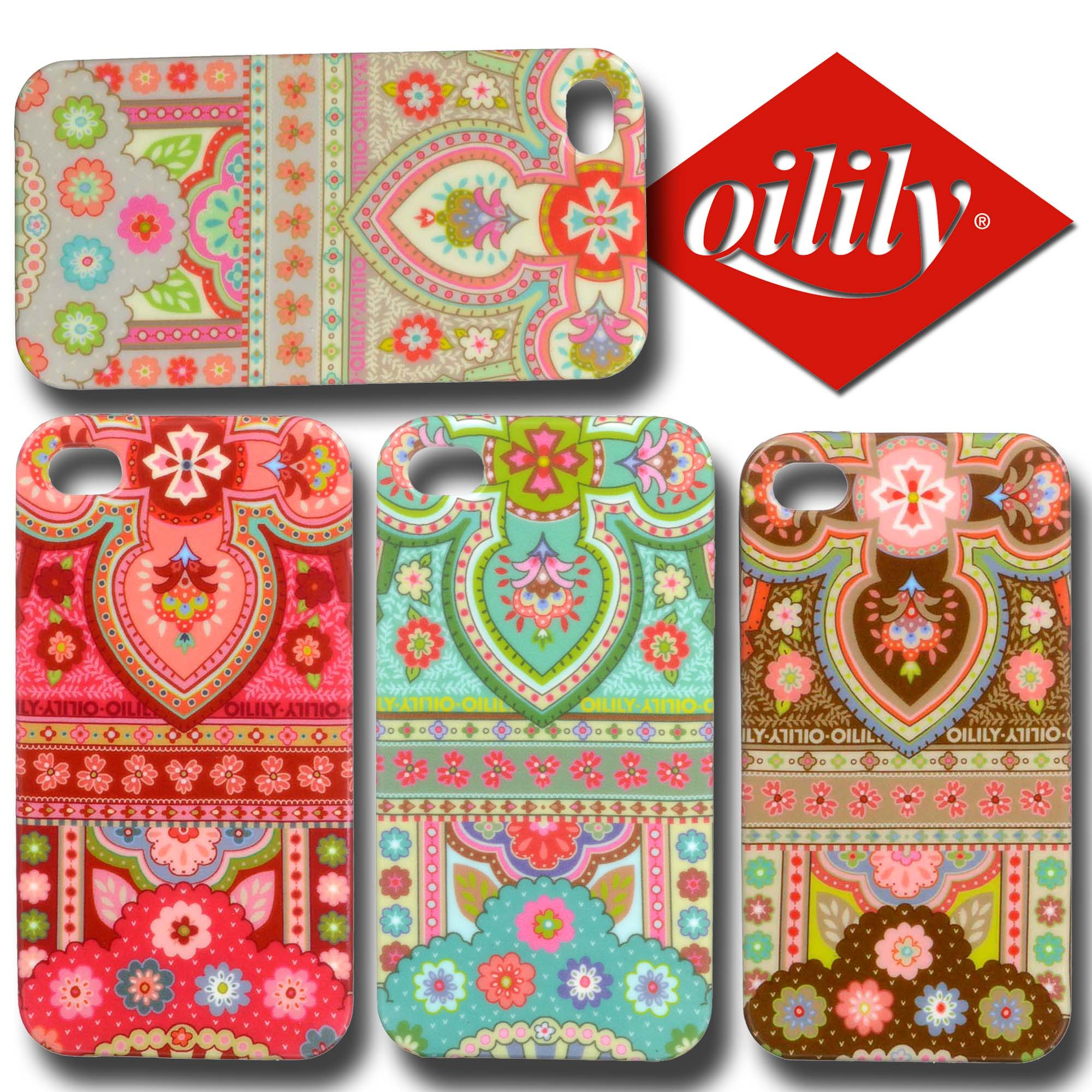 oilily iphone h lle iphone 4 4s case tpu spring ovation. Black Bedroom Furniture Sets. Home Design Ideas