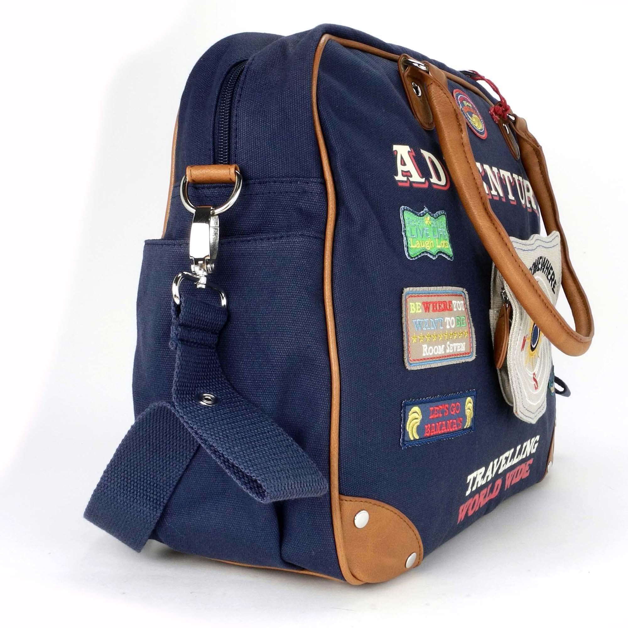 room seven diaper bag changing bag diaper bag blue shield bages blue. Black Bedroom Furniture Sets. Home Design Ideas
