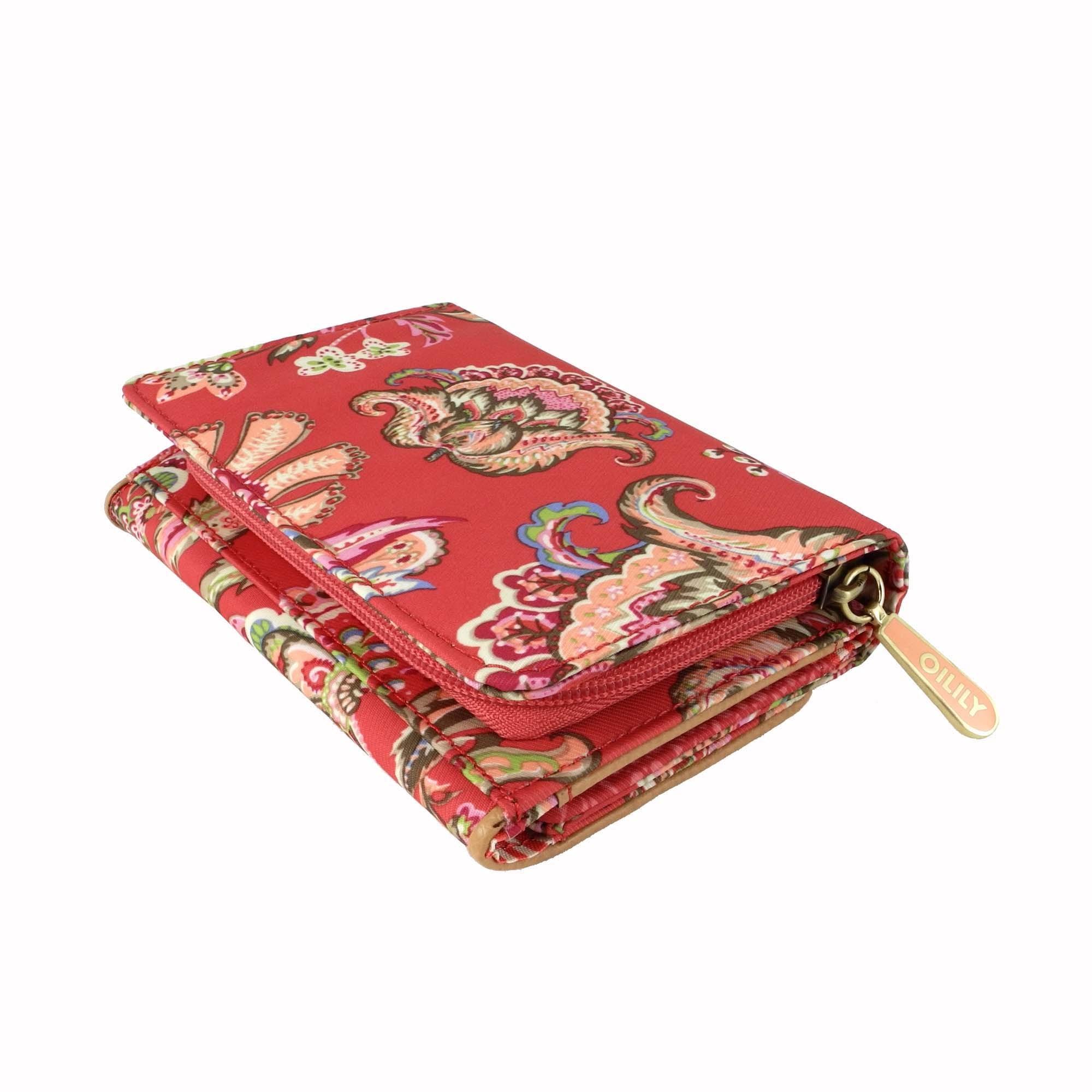 oilily summer flowers geldb rse s wallet portemonnaie rose. Black Bedroom Furniture Sets. Home Design Ideas