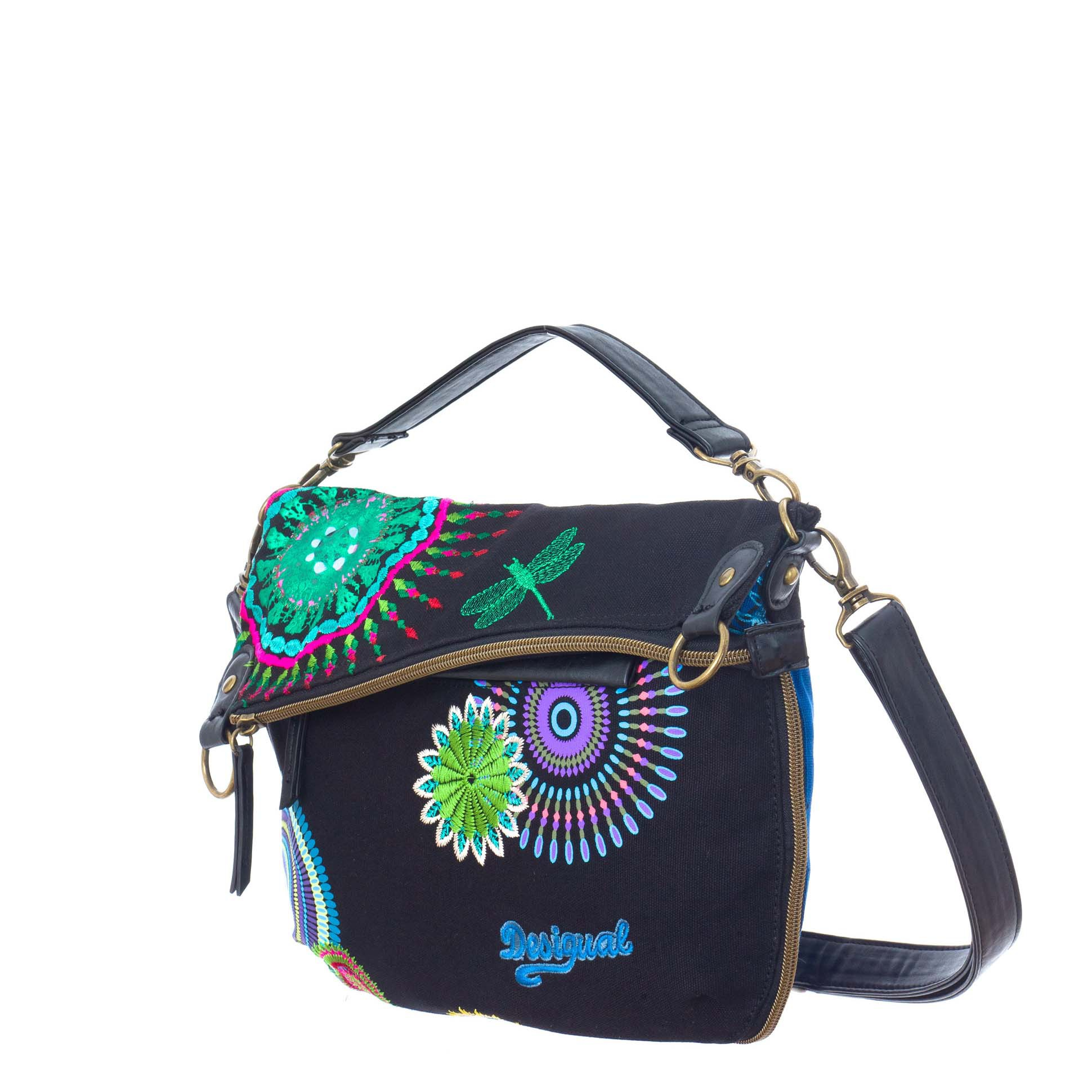 739f060dc25 Desigual Bols Folded S Patch Sac Bandouliã â¨re 35 40 62