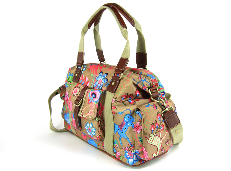 oilily tasche wickeltasche diaperbag paradiso sand beig ebay. Black Bedroom Furniture Sets. Home Design Ideas