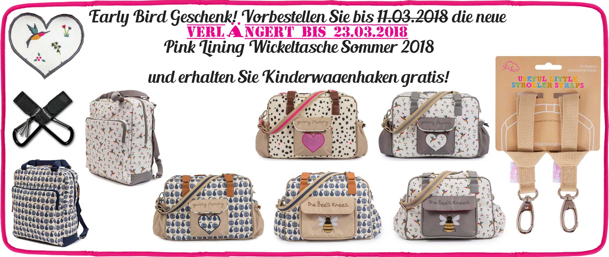 Pink Lining Sommer 2018