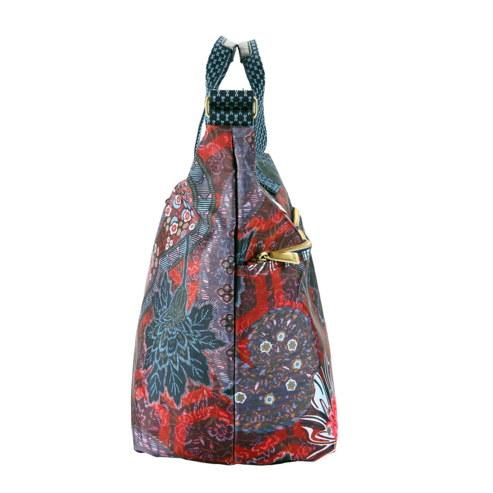 oilily paisley wickeltasche shoulder baby bag dark blue. Black Bedroom Furniture Sets. Home Design Ideas
