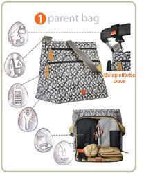 Oban Parent Bag Black