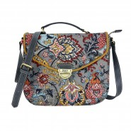 Oilily French Paisley Schultertasche M (Mittel) Iron