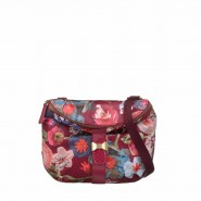 Oilily Paper Flowers Schultertasche S (Small) Cerise