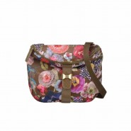 Oilily Paper Flowers Schultertasche S (Small) Moss