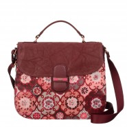 Oilily Abbey Tiles Schultertasche M (Mittel) Red