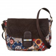 Oilily Abbey Tiles Schultertasche S (Small) Mustard