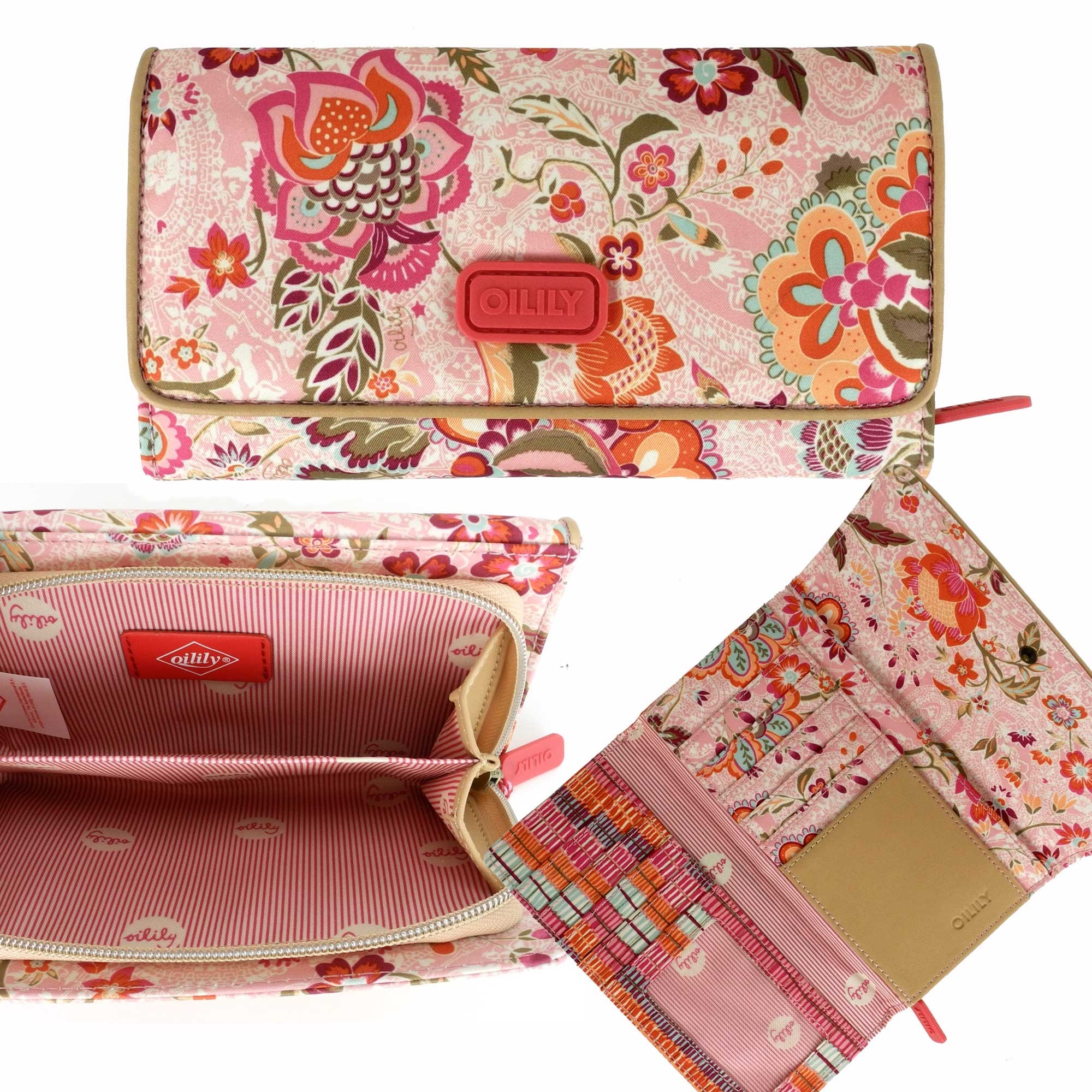 oilily summer blossom geldb rse l wallet portemonnaie. Black Bedroom Furniture Sets. Home Design Ideas