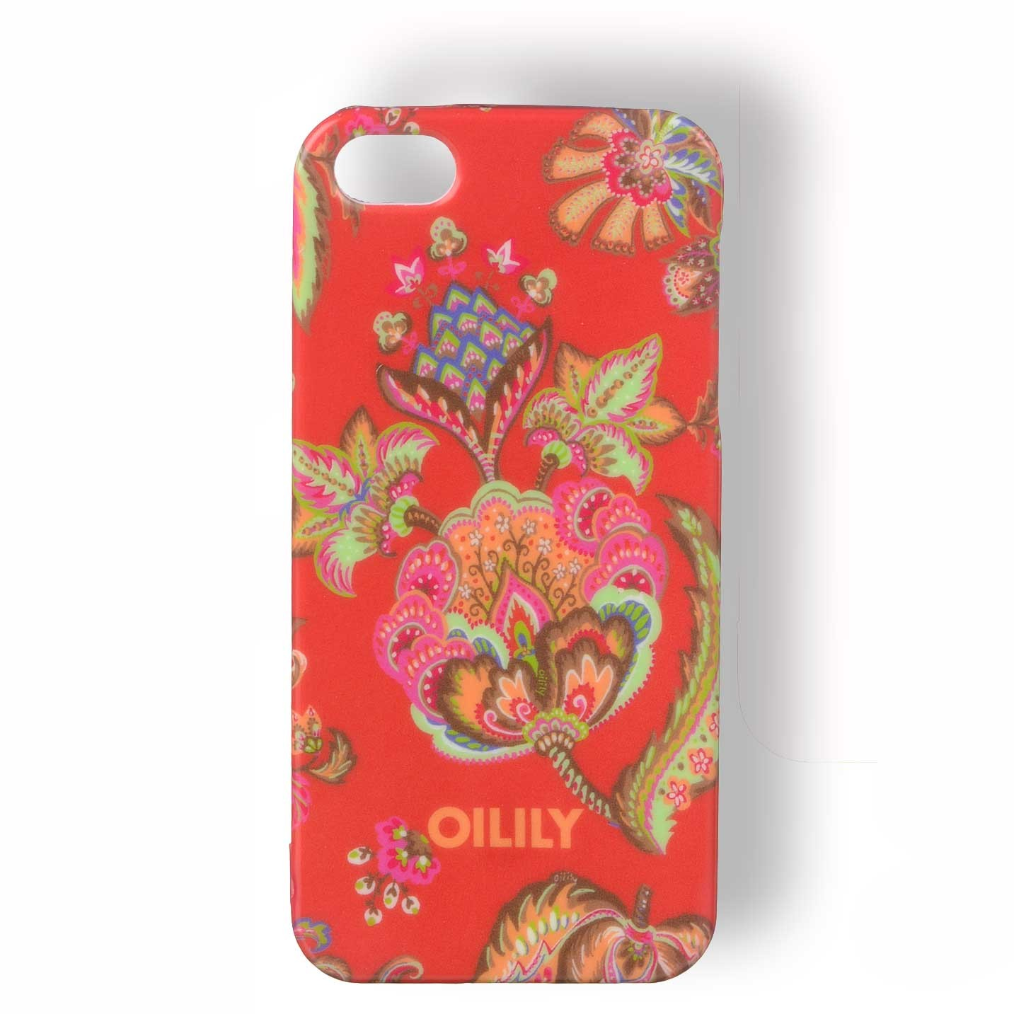 oilily summer flowers iphone h lle iphone 5 5s case tpu. Black Bedroom Furniture Sets. Home Design Ideas